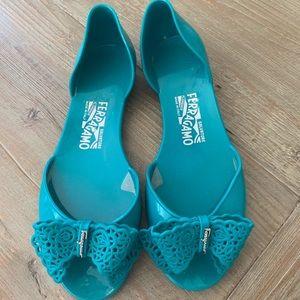 Ferragamo jelly sandal